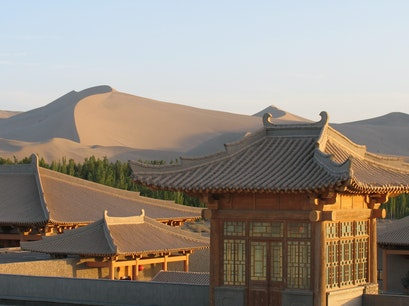 The Silk Road Dunhuang Hotel Jiuquan  China