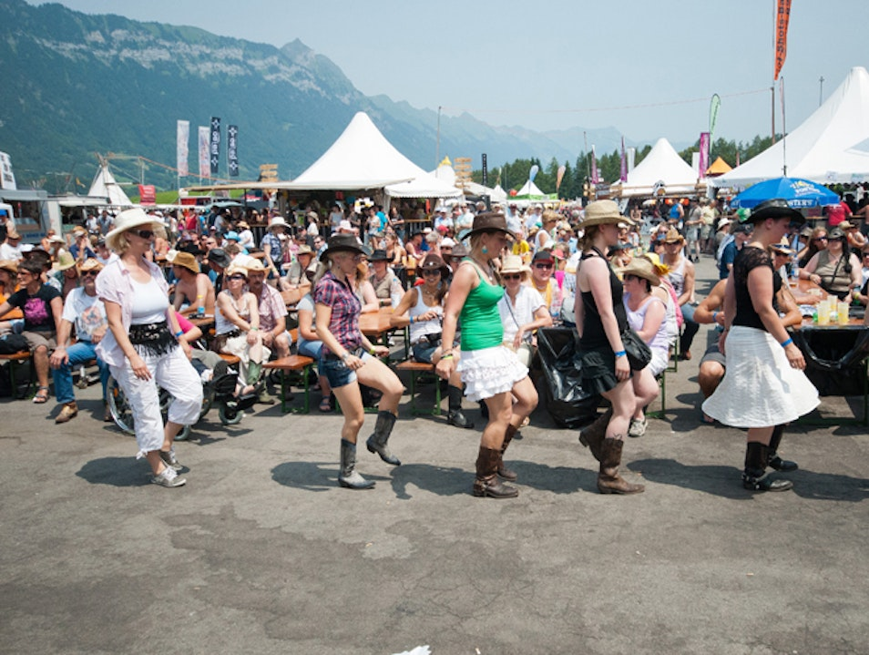 Interlaken's Annual Trucker Festival Sundlauenen  Switzerland