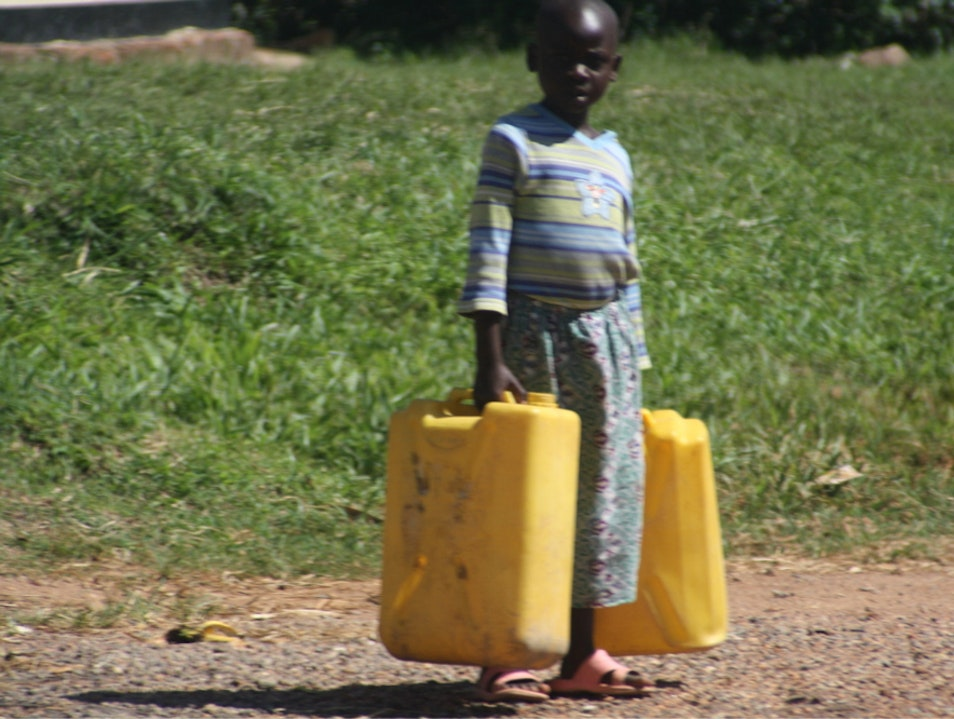 Water From The Well Entebbe  Uganda