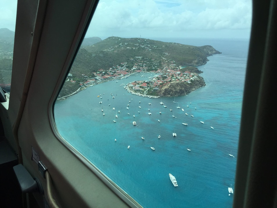 puddle jumper day trip to St. Barth's   Saint Barthélemy