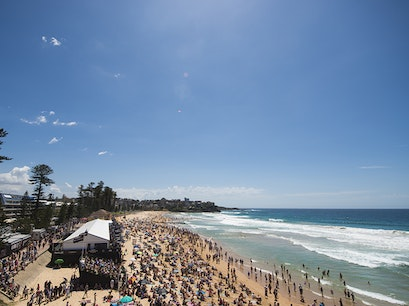 Australian Open of Surfing Manly  Australia