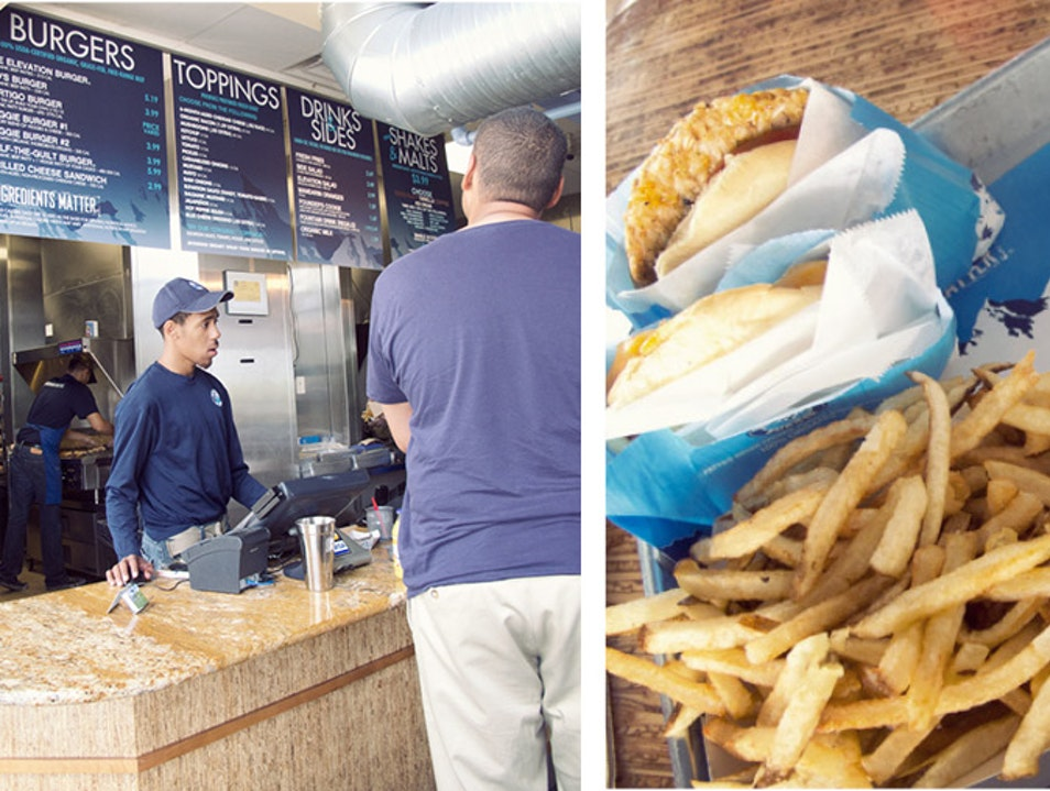 Elevation Burger: Fast Food with a Sustainable Vision  Fort Washington Maryland United States