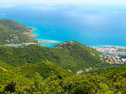 Mount Sage National Park Tortola  British Virgin Islands