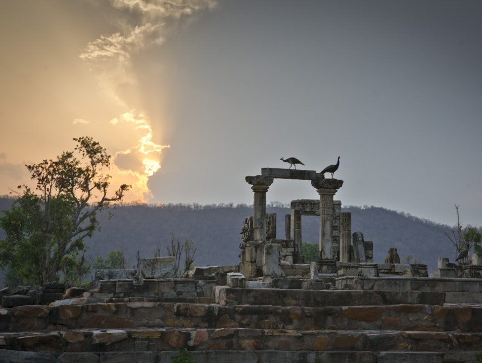 The Temple Town of Neelkanth