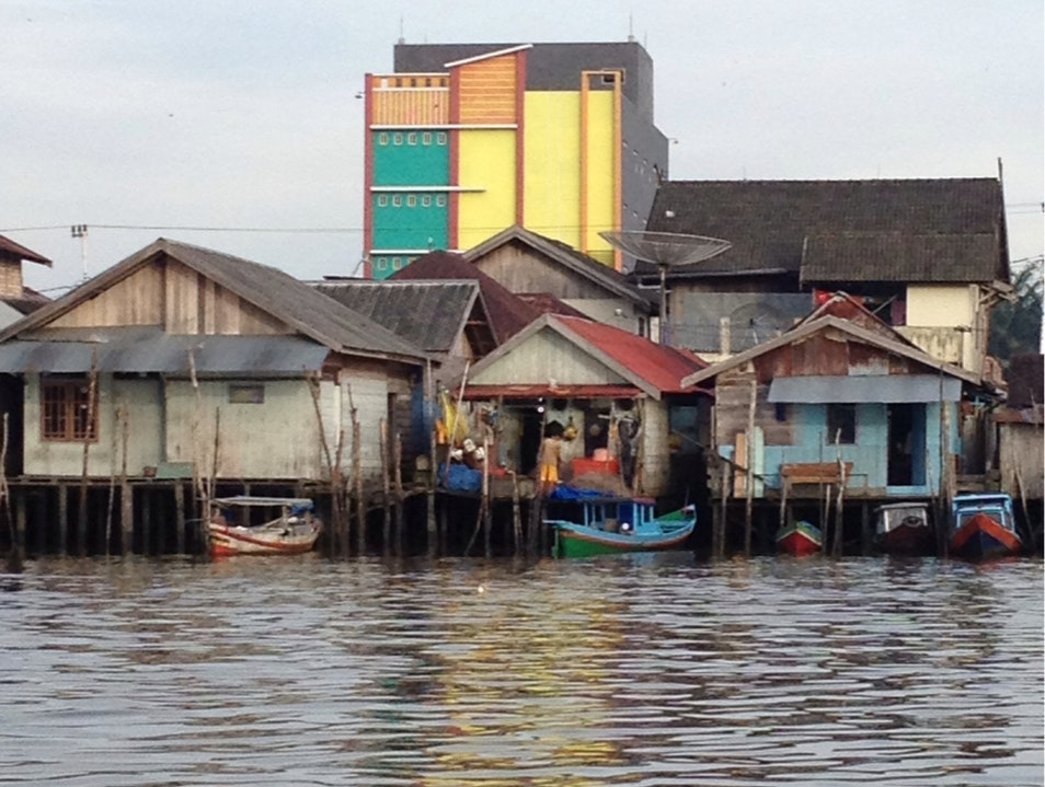 """Bird Houses"" In Borneo South Sumatera  Indonesia"