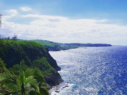 Quebradillas cliffside overlook Quebradillas  Puerto Rico