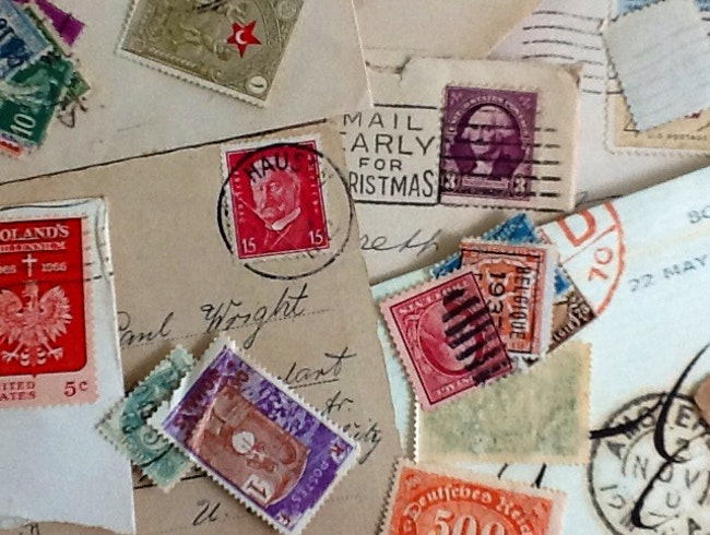 Around the World in Stamps