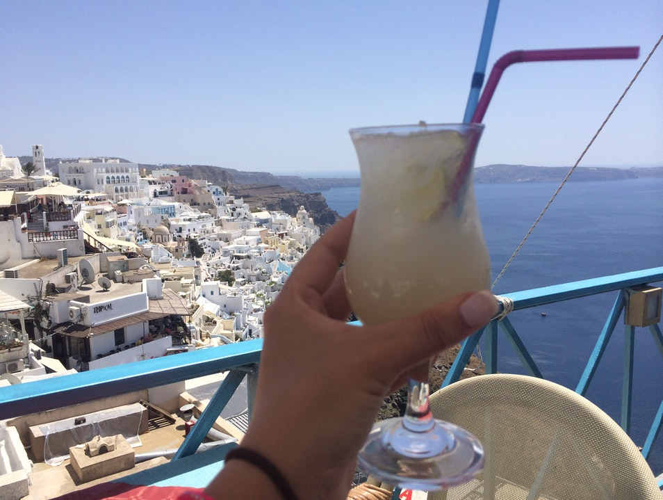 Best Panoramic View in Fira Thera  Greece