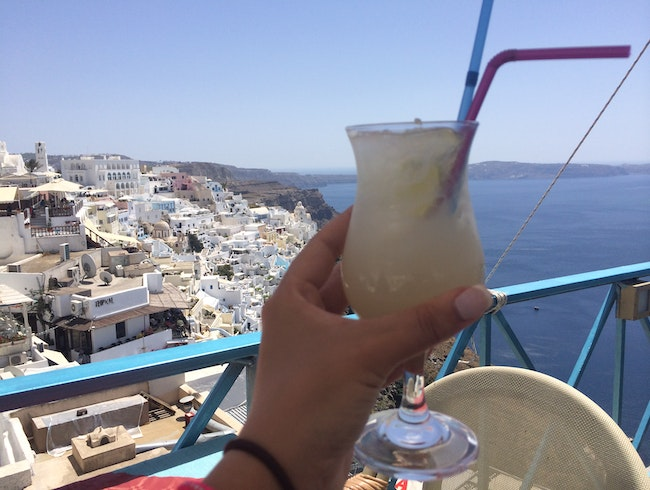 Best Panoramic View in Fira