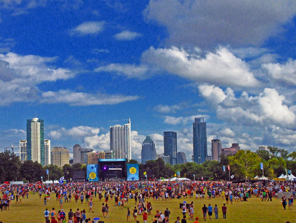 Music Festival for Everyone: ACL Fest Austin Texas United States
