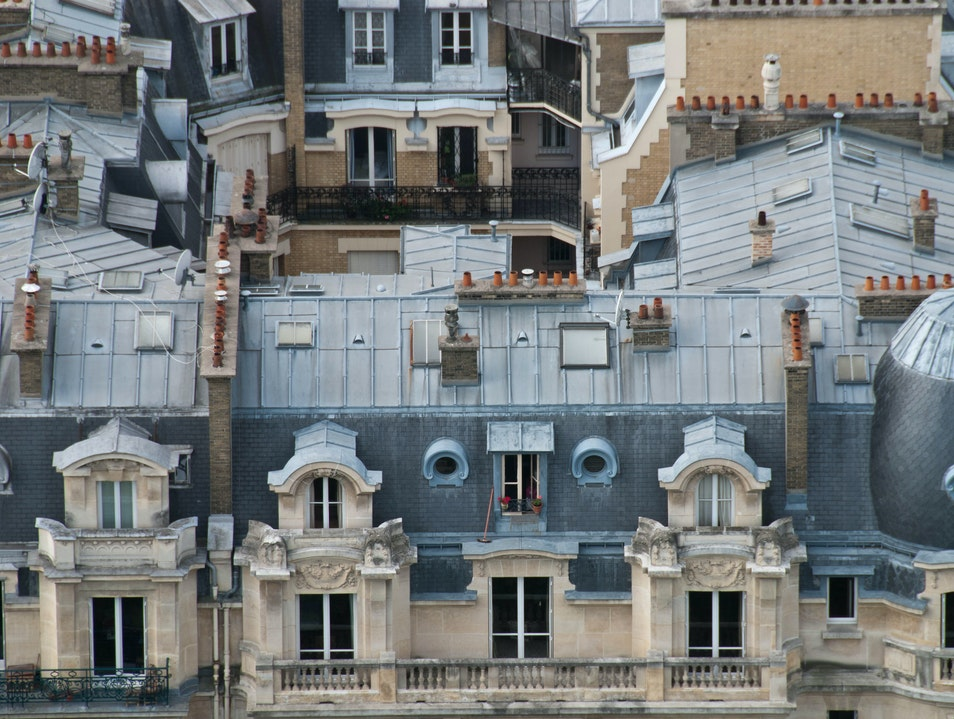 The Rooftops of Paris Paris  France