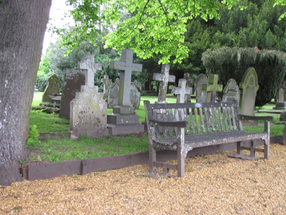 Holy Trinity Church Cemetary  Stratford Upon Avon  United Kingdom
