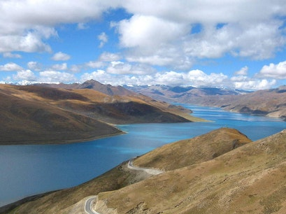 Yamdrok Lake Shannan  China