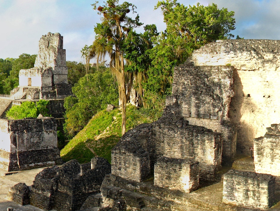 Morning in Tikal