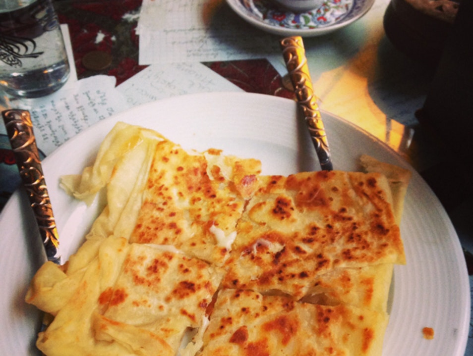 The best gozleme in Istanbul!  Istanbul  Turkey