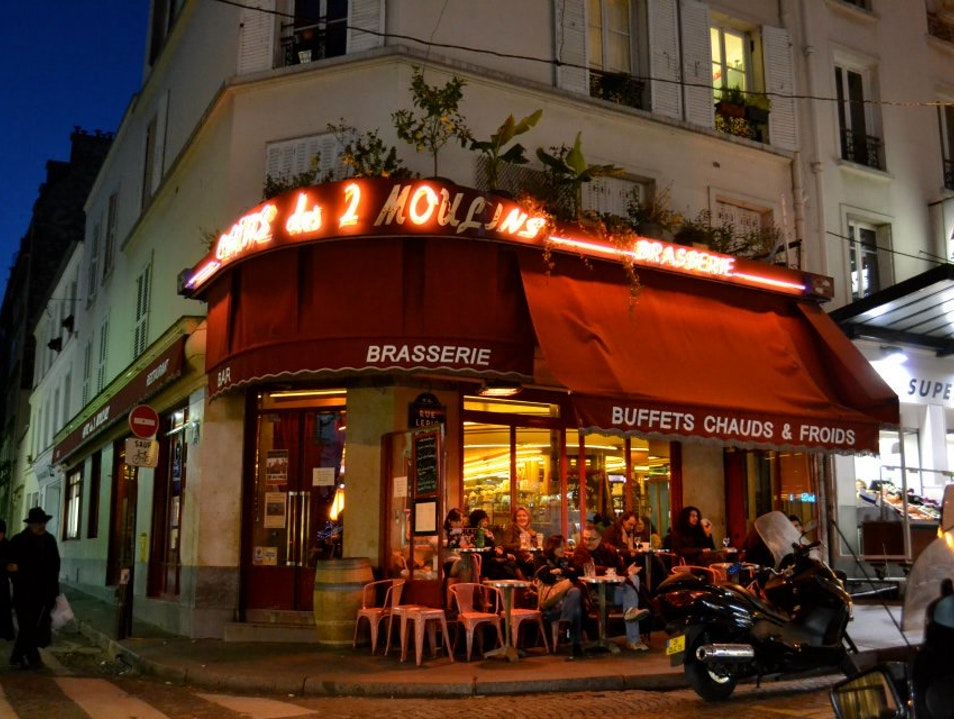 For Movie Buffs and Francophiles: Café des 2 Moulins Paris  France