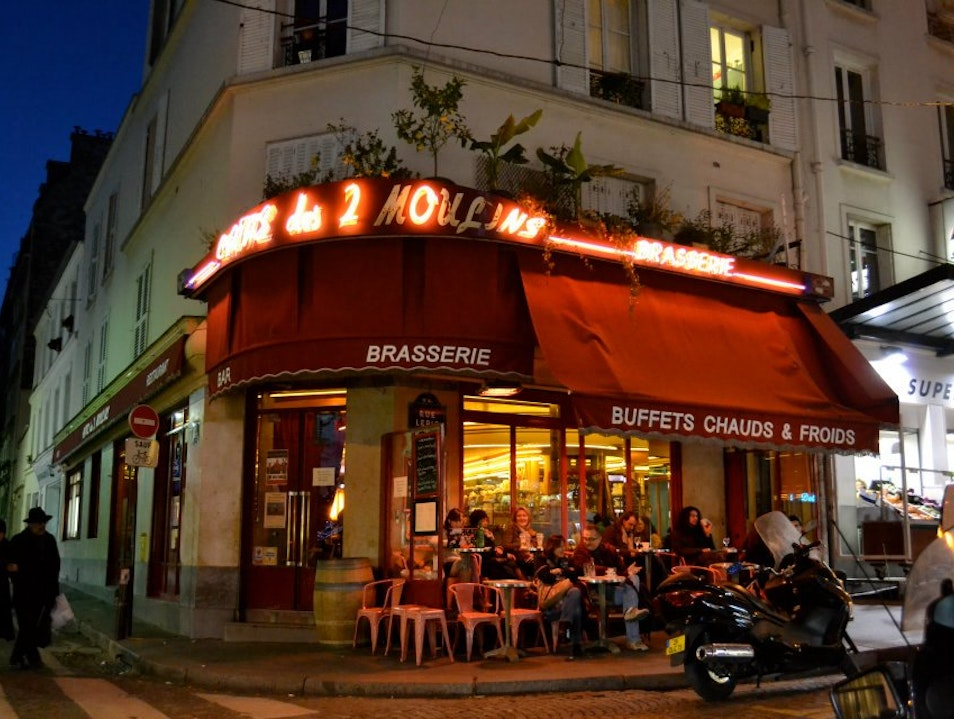 For Movie Buffs and Francophiles: Café des 2 Moulins
