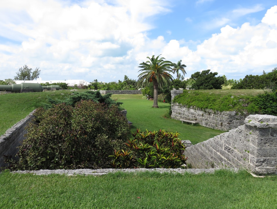 Stroll Through a Victorian Fort Turned Garden  Pembroke  Bermuda