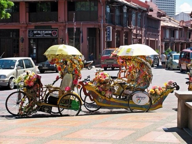 The Trishaws Of Melaka