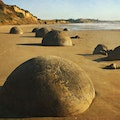 Moeraki Boulders Hampden  New Zealand