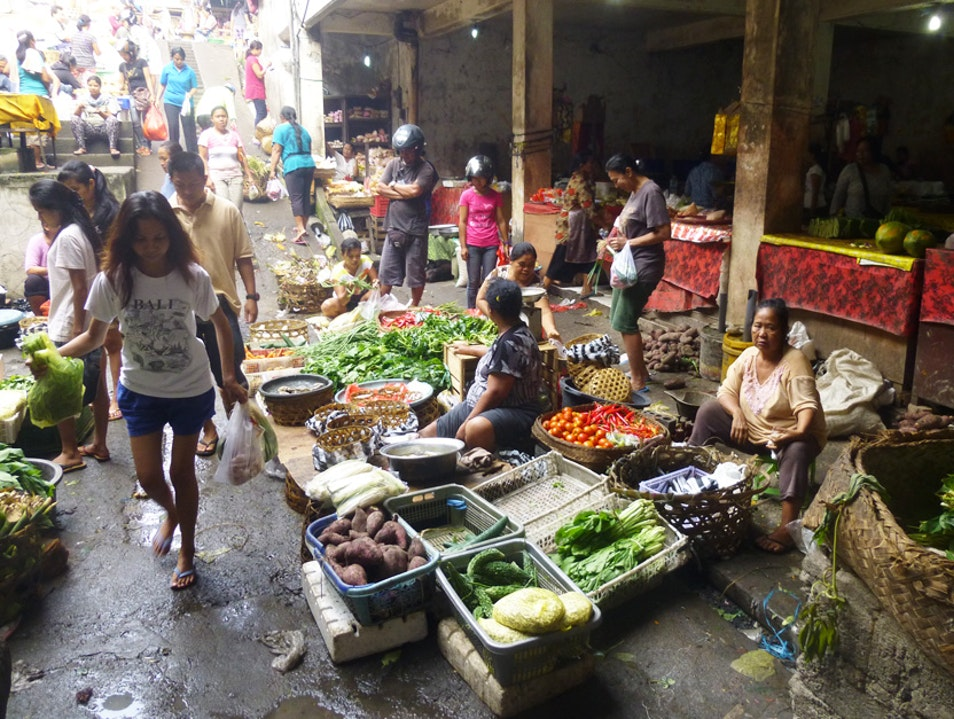 Wandering the market, enjoying the local bounty Gianyar  Indonesia