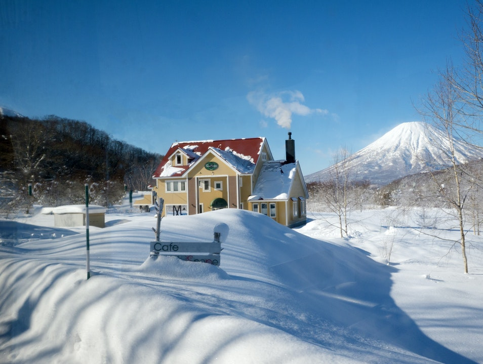 Family Owned Cafe in the Backroads of Hokkaido Kimobetsu  Japan