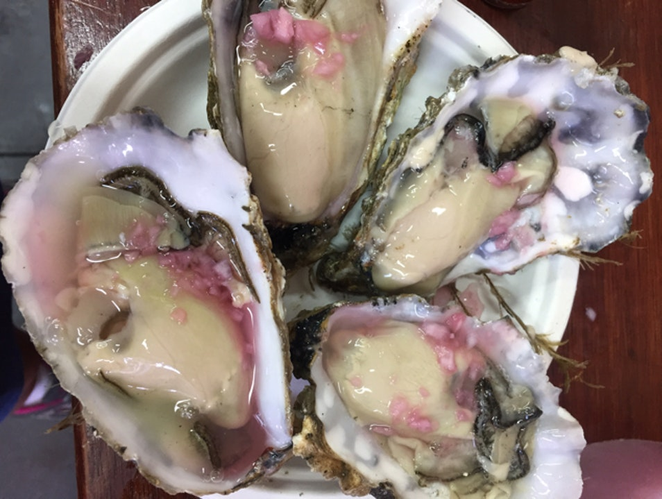 Oyster Heaven at Borough London  United Kingdom