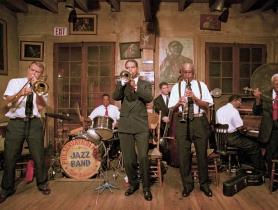 Hear Live Jazz in Preservation Hall New Orleans Louisiana United States