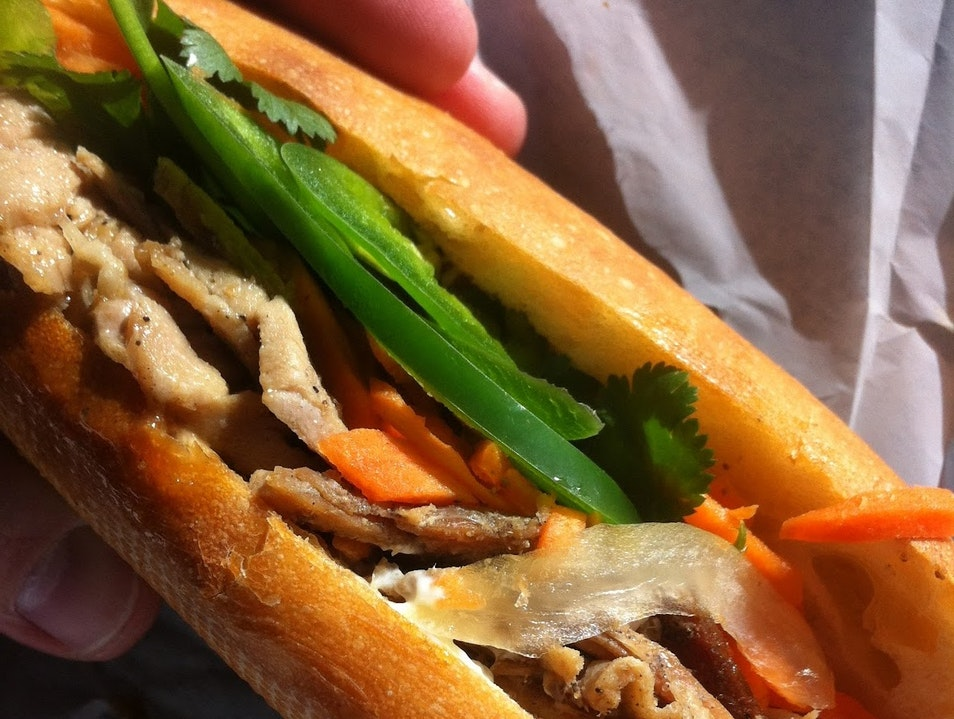 Best $3.50 Banh Mi in San Francisco San Francisco California United States