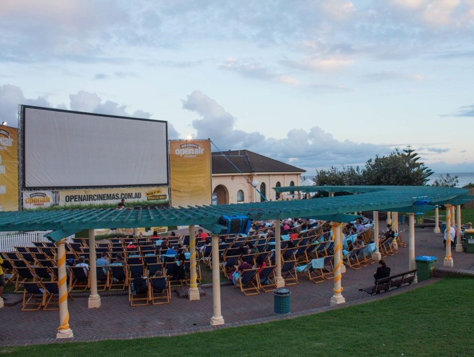 Outdoor Cinema at Bondi Beach Bondi Beach  Australia