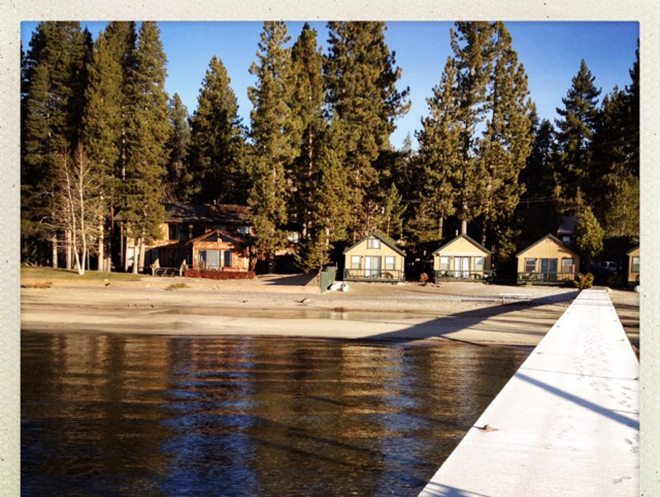 Lovely Lakeside Cabins  Tahoe Vista California United States