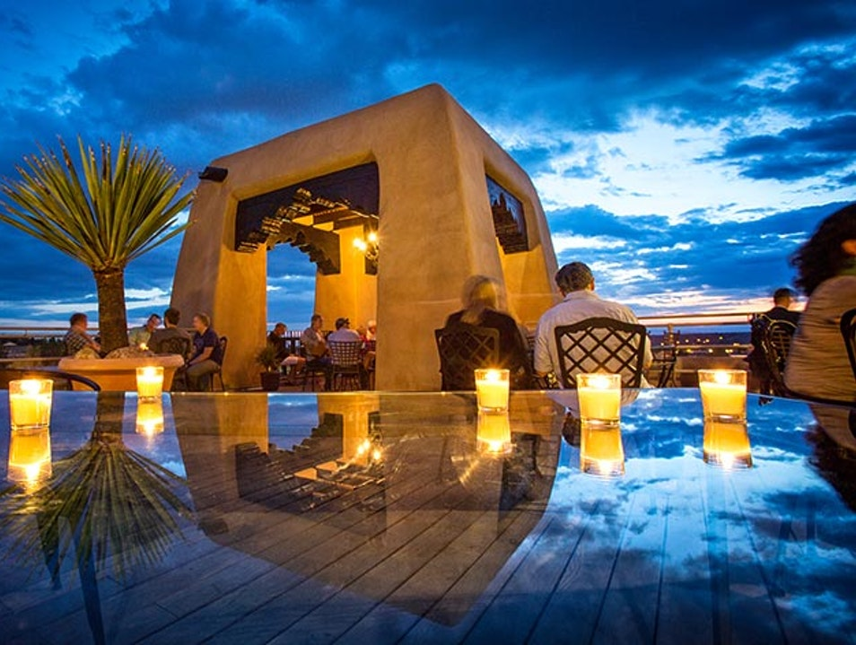 Rooftop, Sunset Drinks Santa Fe New Mexico United States