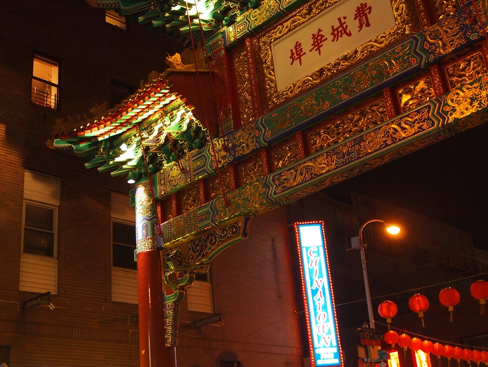 Something for everyone in Philly's Chinatown Philadelphia Pennsylvania United States