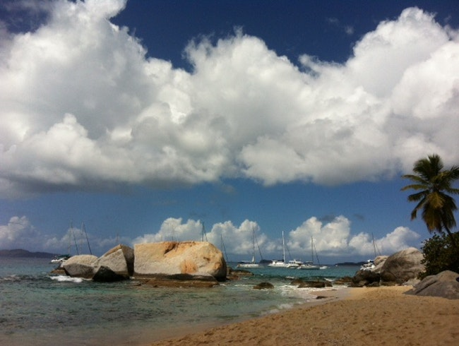 Day sailing trip to The Baths on Virgin Gorda