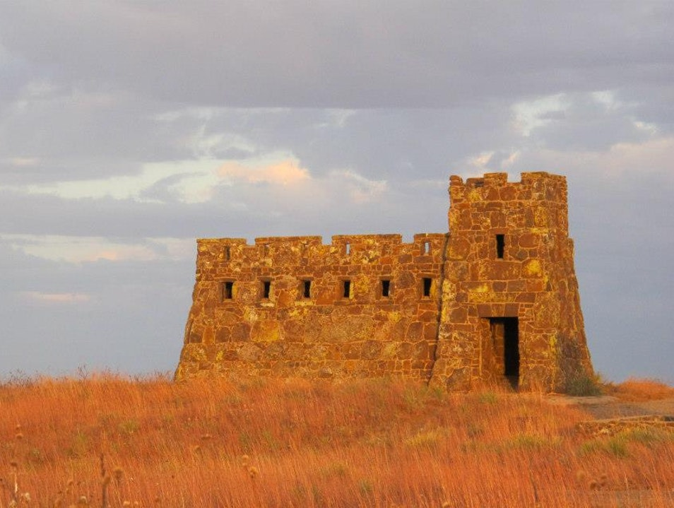 Coronado Heights at Sunset Lindsborg Kansas United States