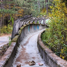 Olympic Bobsleigh and Luge Track