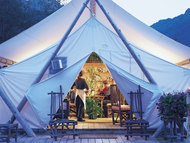 Stay in Luxury Tents at Clayoquot Wilderness Resort