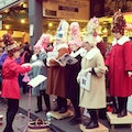 Figgy Pudding Caroling Competition Seattle Washington United States