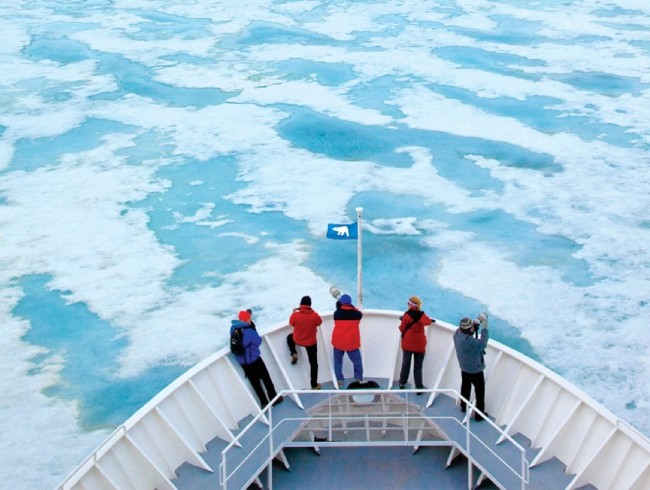 Breaking the Ice in the Arctic