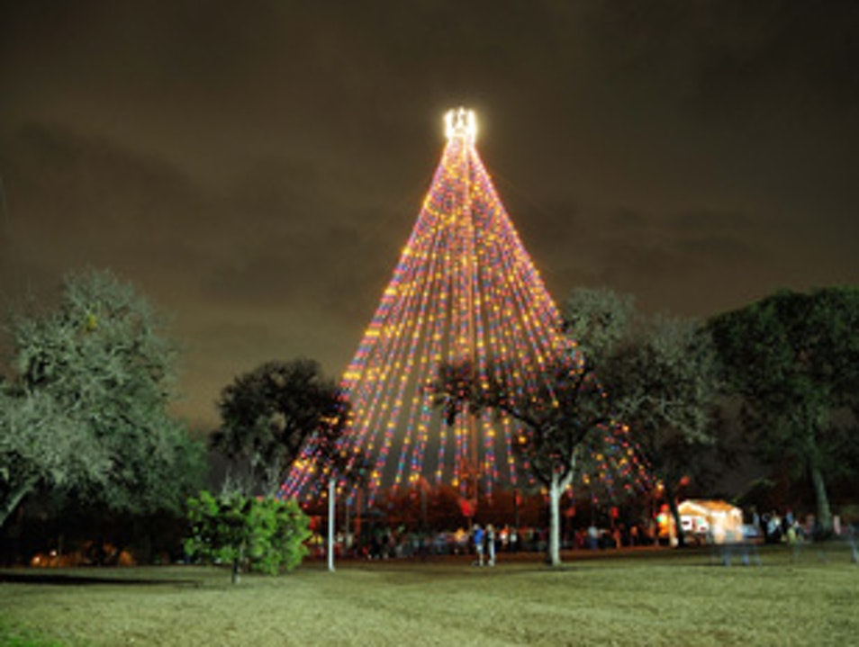 See the Lights: Zilker Holiday Tree Austin Texas United States