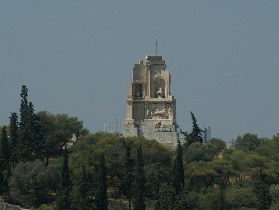 Philopappos Monument with one of the best Acropolis views Athens  Greece