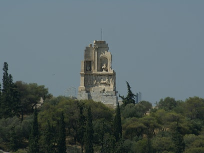Monument Philopappos Athens  Greece