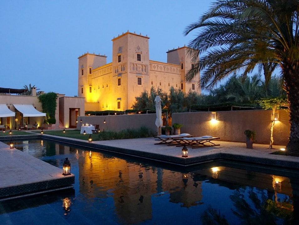 STAY IN A SENSUOUSLY RENOVATED KASBAH IN THE MIDDLE OF A MOROCCAN OASIS