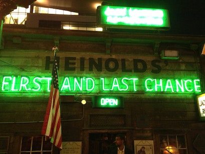 Heinold's First & Last Chance Oakland California United States