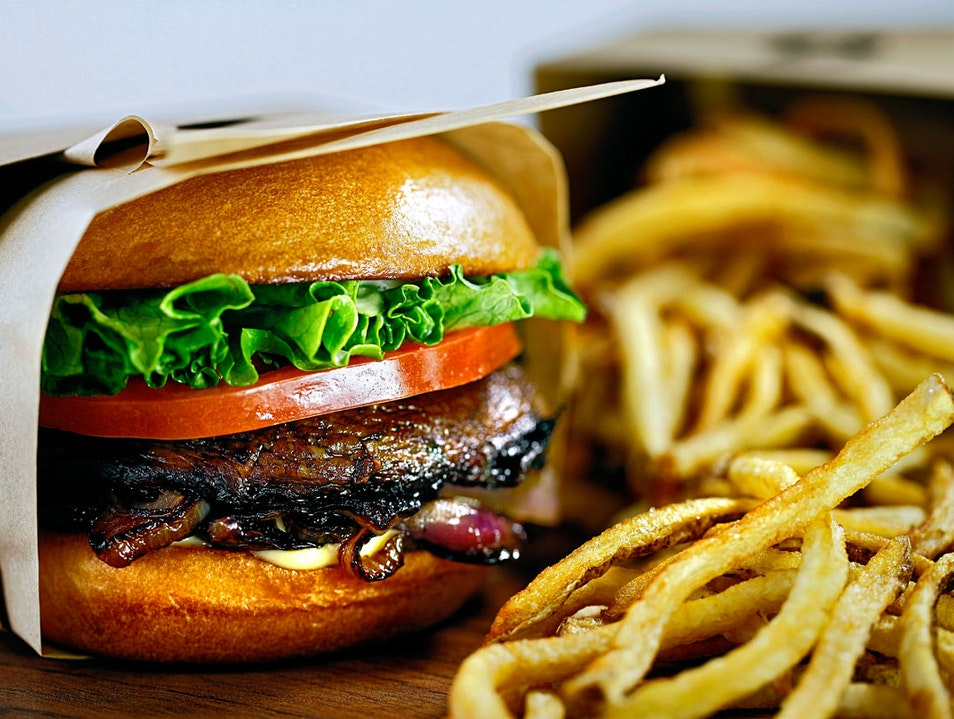 Eco-Friendly Fast Food at Larkburger Arvada Colorado United States