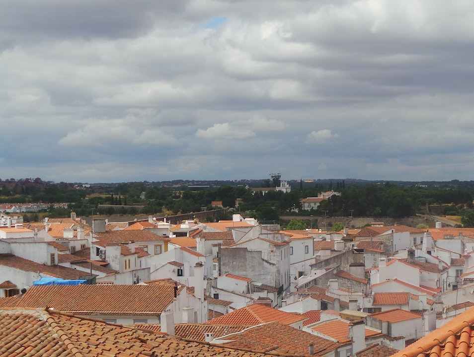 The rooftops in Évora Portugal Evora  Portugal