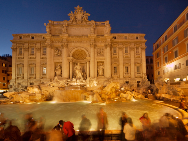 Toss a Coin in the Trevi Fountain