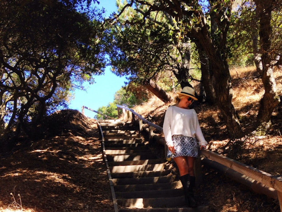 100 Steps To Heaven - Angel Island Tiburon California United States
