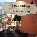 License No. 1 Liquor Bar Boulder Colorado United States