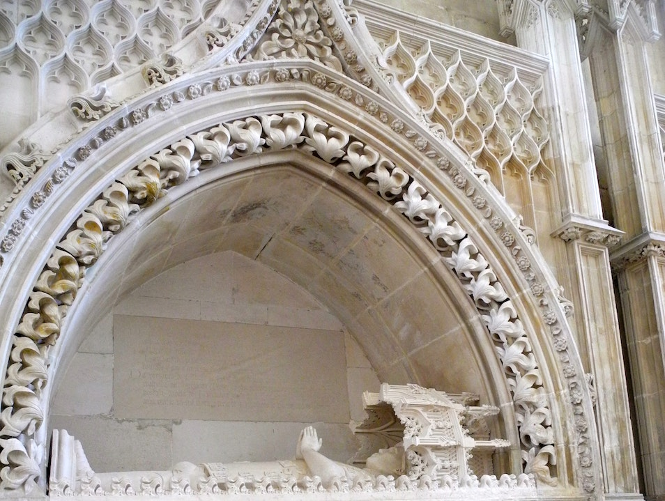 The Tomb of Prince Henry the Navigator Batalha  Portugal